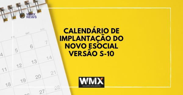Calendário de Implementação do Novo Esocial